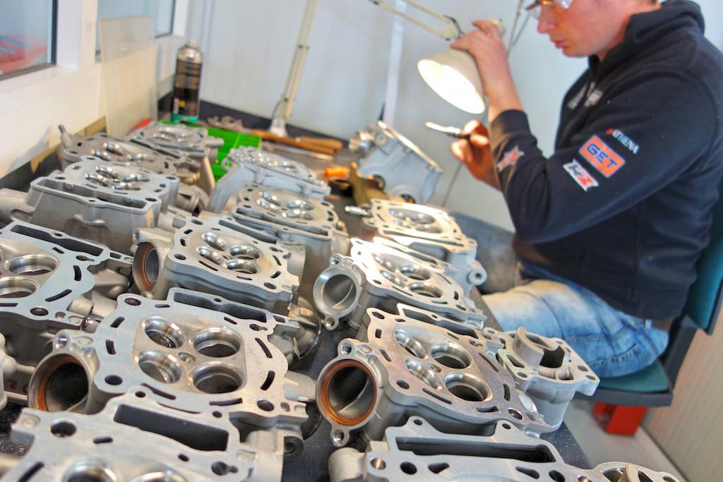 KTM Cylinder Head Tuning